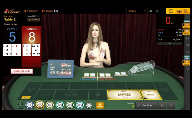 sexy baccarat 77