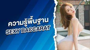 ความรู้พื้นฐาน sexy baccarat บาคาร่าออนไลน์